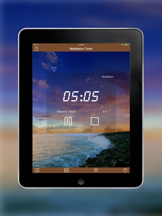 Meditation Timer Pro for iPad