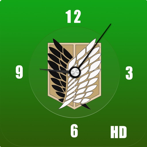 AoT Clock HD for Attack on Titan