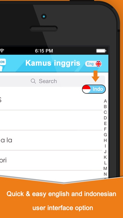 Kamus Inggris Indonesia Edition For iOS 7