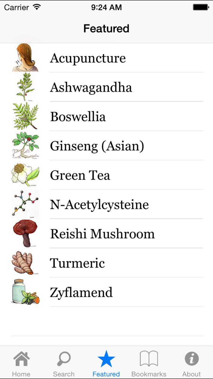 About Herbs Screenshot