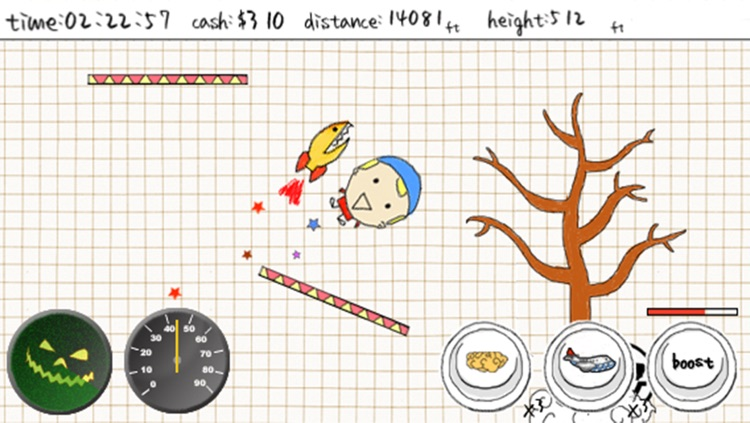 A Doodle Fly - Fly to Mars screenshot-3