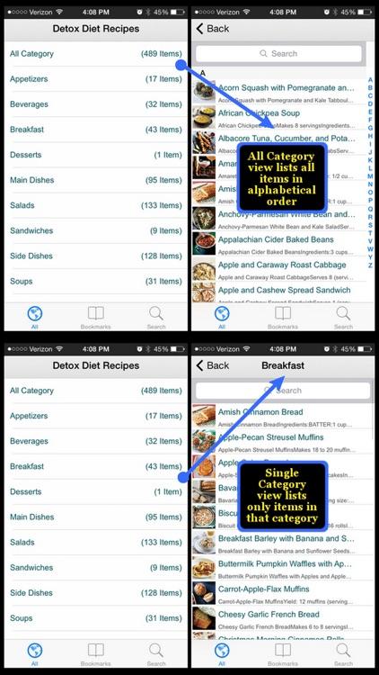 Detox Diet Recipes screenshot-3