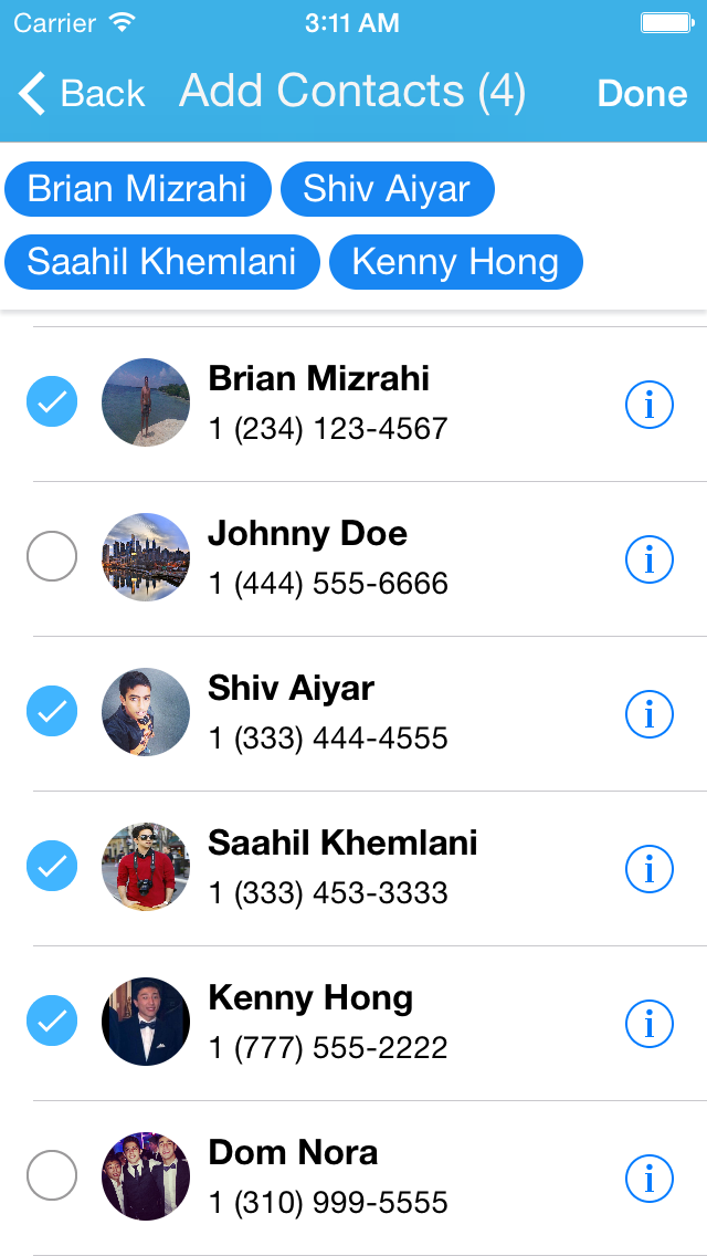 Group Texting - Instant SMS and iMessages to Multiple Contacts at