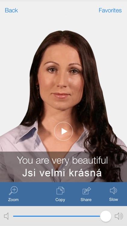 Czech Pretati - Translate, Learn and Speak Czech with Video Phrasebook screenshot-3