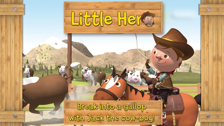 The cow-boy - Little Hero