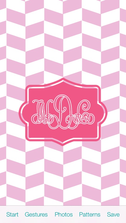 The Monogram by WayDC - DIY background & wallpapers create custom fonts & app icons for home & lock screen themes skin design art maker