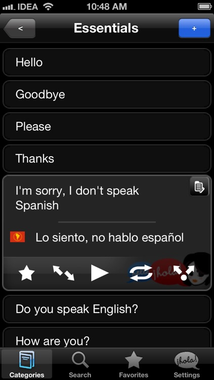 Lingopal Spanish (Latino) LITE - talking phrasebook