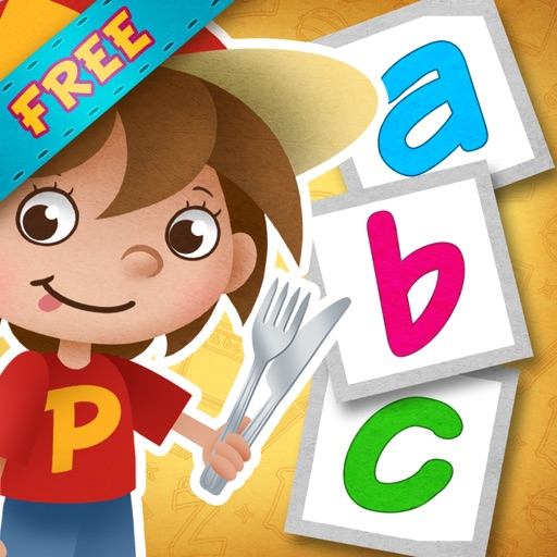 """Eat Salad! : FREE part of """"Read With Pen"""" series - apps that will teach your toddler to read!"""