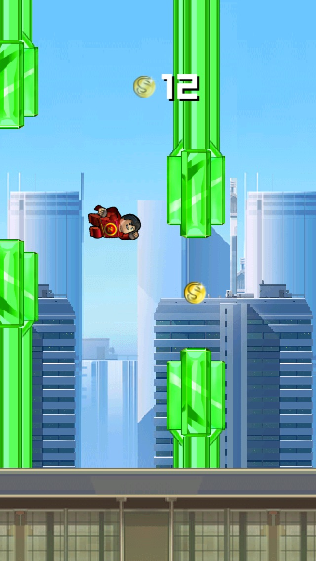 Super Flappy Justice League- Play Free Comic Hero Edition-2
