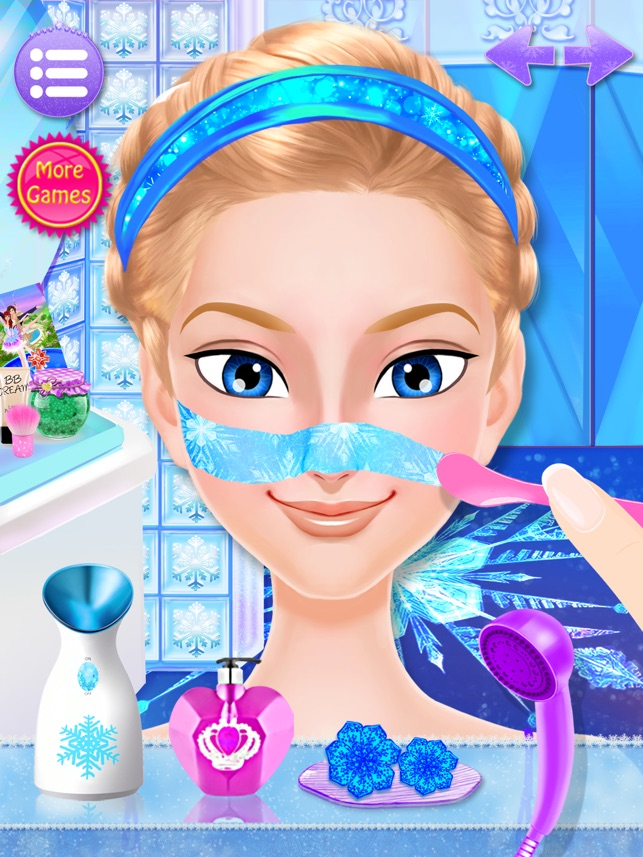 Frozen Ice Queen - Beauty SPA on the App Store