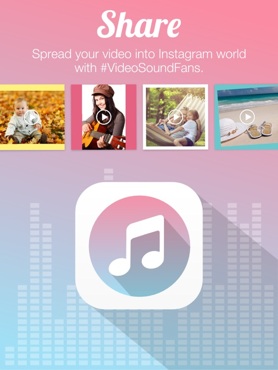 Video Sound Pro for Instagram - Add 10 Background Musics to Your Recorded Video Clips screenshot-4