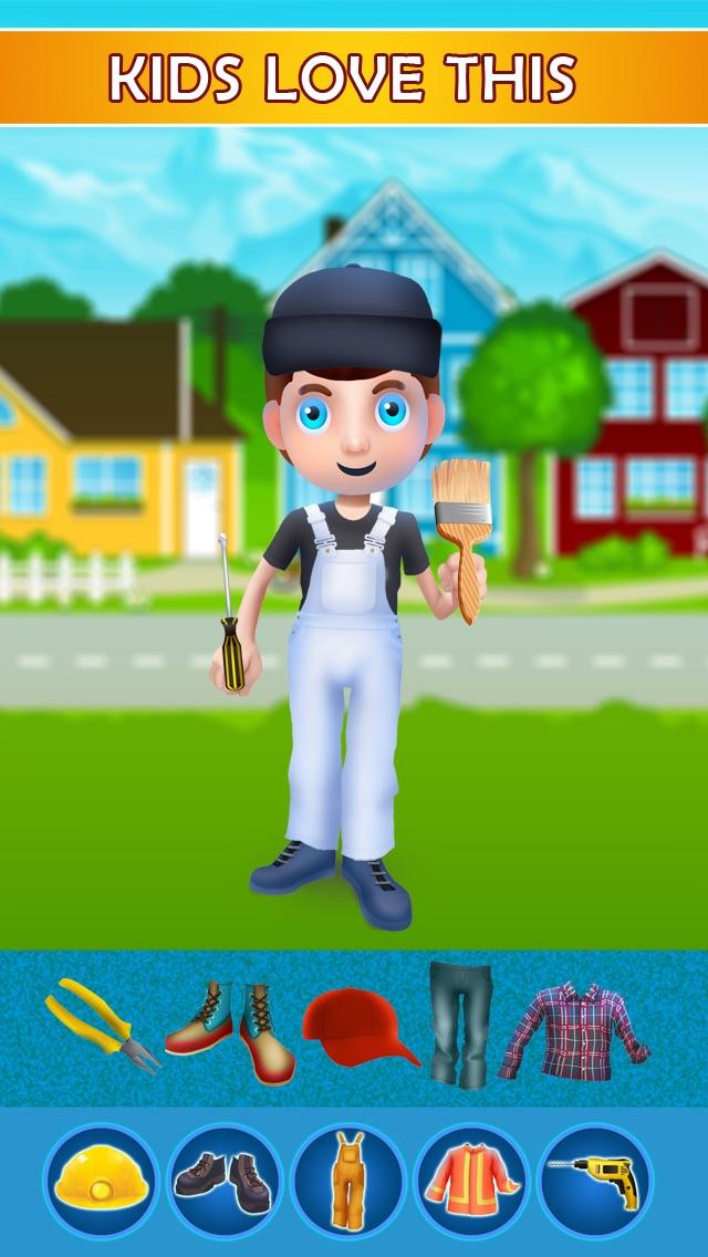 Dress Up Builder Bill - Fun Kids Game-0