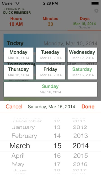 Quick Reminders: Super fast way to create a reminder screenshot-4