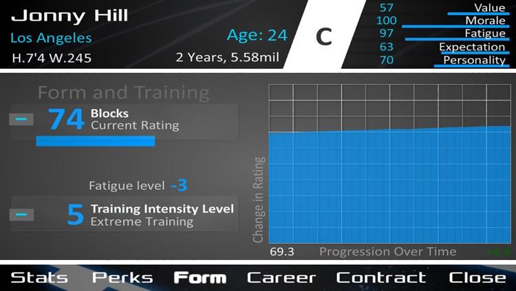 Basketball Dynasty Manager 14 screenshot-3
