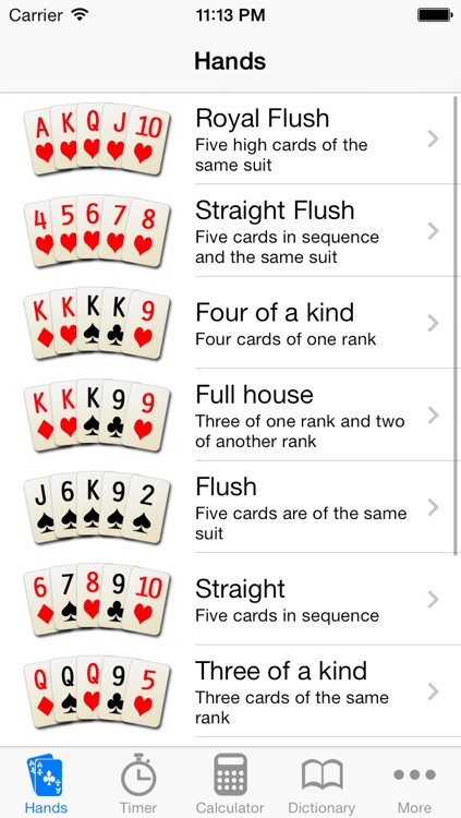 Poker Helper Pro screenshot-2
