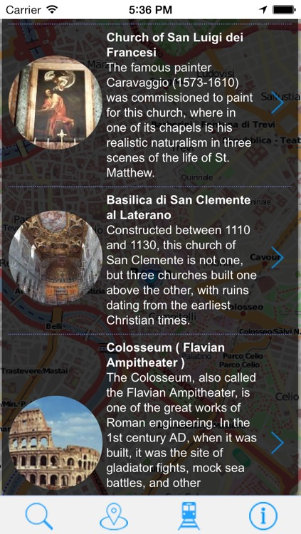 Offline Map Rome - Guide, Attractions and Transport