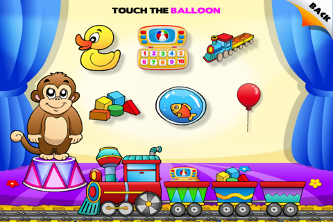 Abby - Toys Train - Learn Toys - Interactive Games for Children (Baby, Toddler, Preschool) HD Free screenshot 4