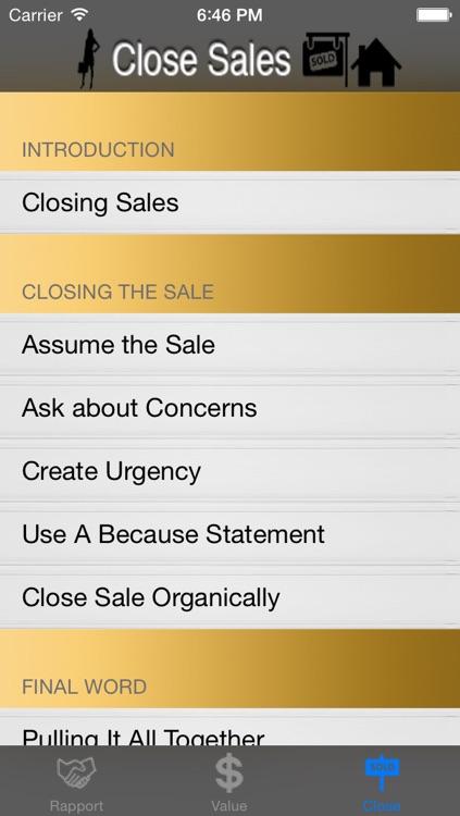 Sales Training: Tactics and Techniques screenshot-3