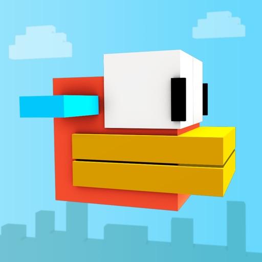 Block Bird -  3D Flappy Flyer