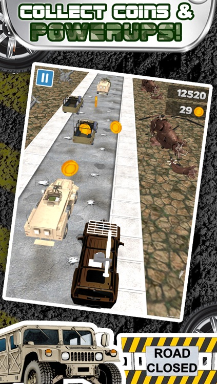 3D Humvee Army Race Game By Top Racing War Games For Cool Boys And Teens FREE screenshot-3