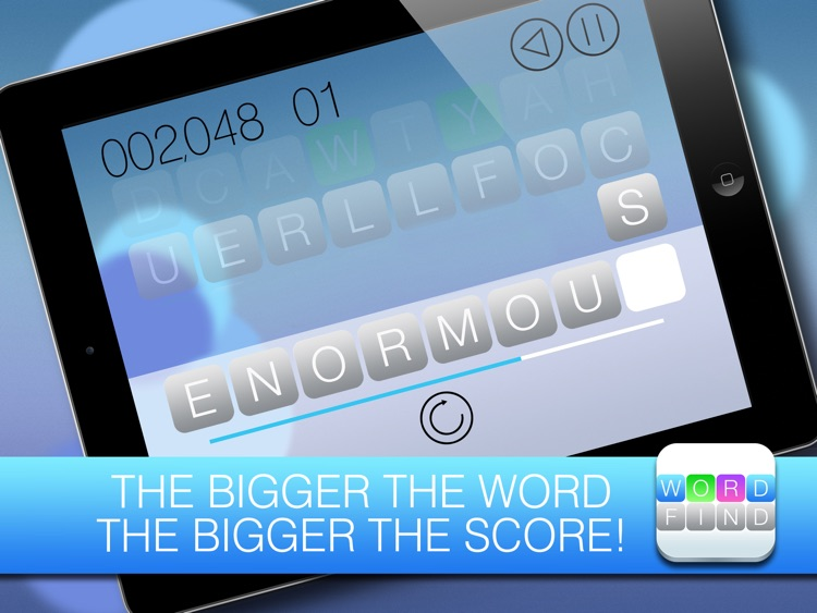 Word Find FREE - Use the gems and beat the clock screenshot-3