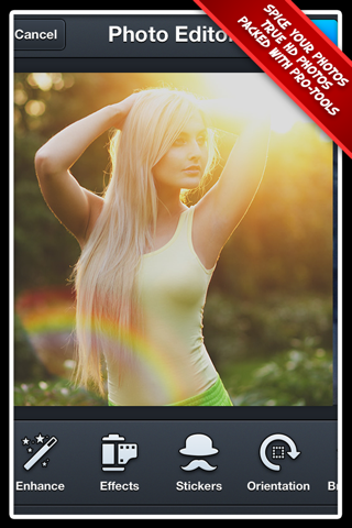 Photo Editor Pro+ 2 Free: The Best Portrait Effect Editor for Facebook screenshot 2