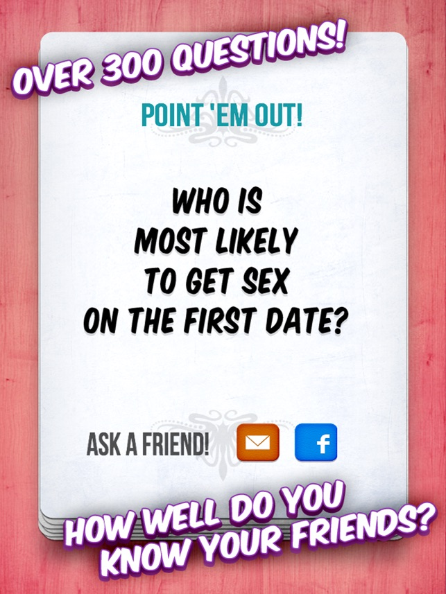 Most Likely To Questions >> Most Likely A Party Game On The App Store