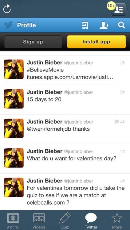 Ultimate Fan Club - Justin Bieber Edition screenshot-3