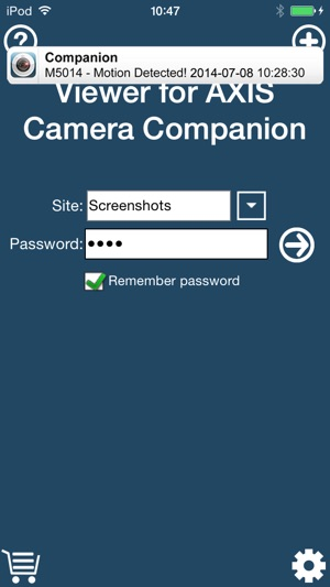 ‎Viewer for AXIS Camera Companion
