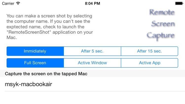 Shot on Mac