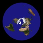 Flat Earth - Satellite Image Viewer icon
