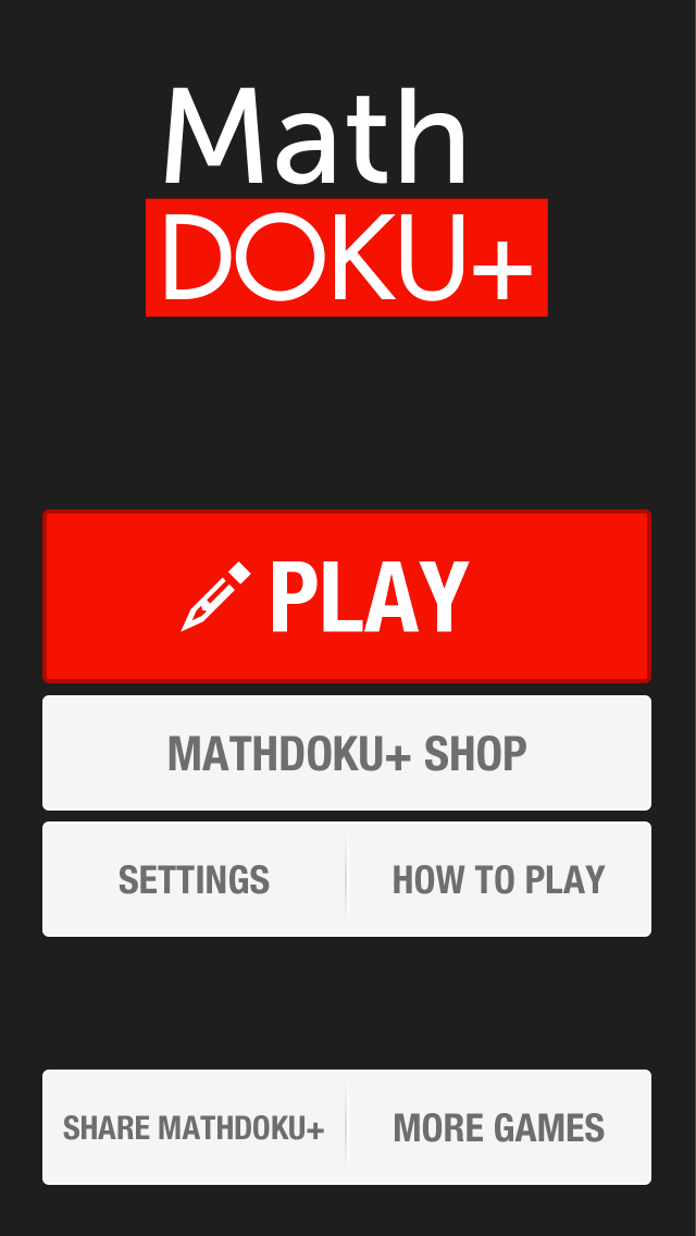 Mathdoku+ Sudoku Style Math & Logic Puzzle Game App Profile