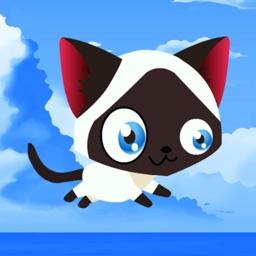 A Kitty Cat vs Puppies Run-ing Jump-ing Game