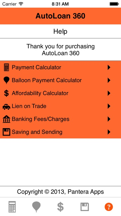 Auto Loan Calculator 360 screenshot-4