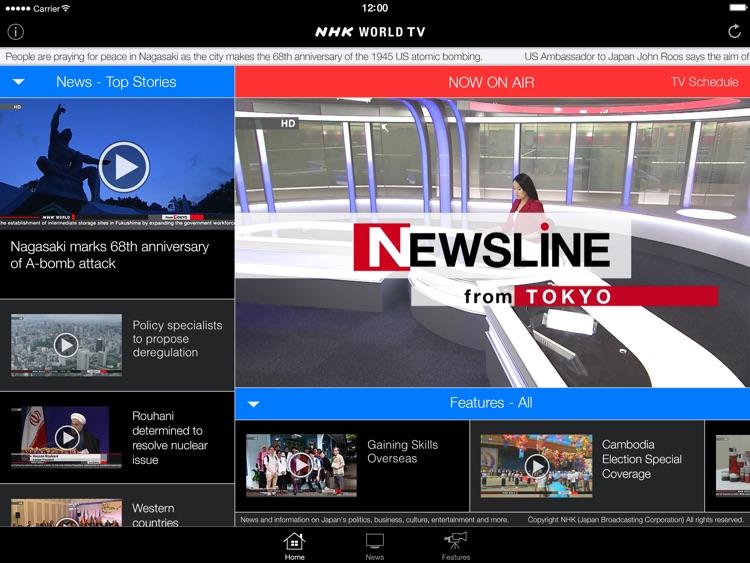 NHK WORLD TV Live & News