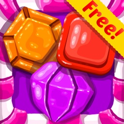 Jewel Games Candy Edition - Play Cute Match 3 Blitz Game For Kids HD FREE