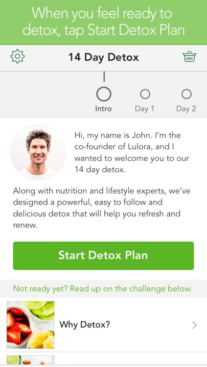 14 Day Detox including meal plan and cleansing guides