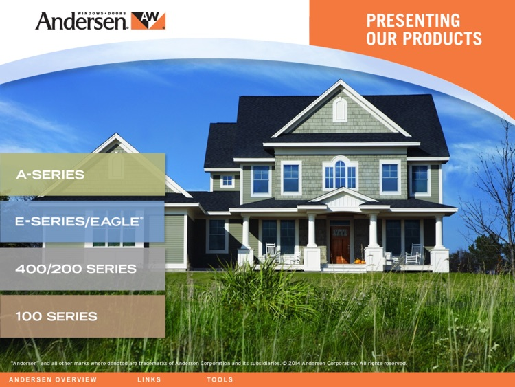 Presenting Andersen Products