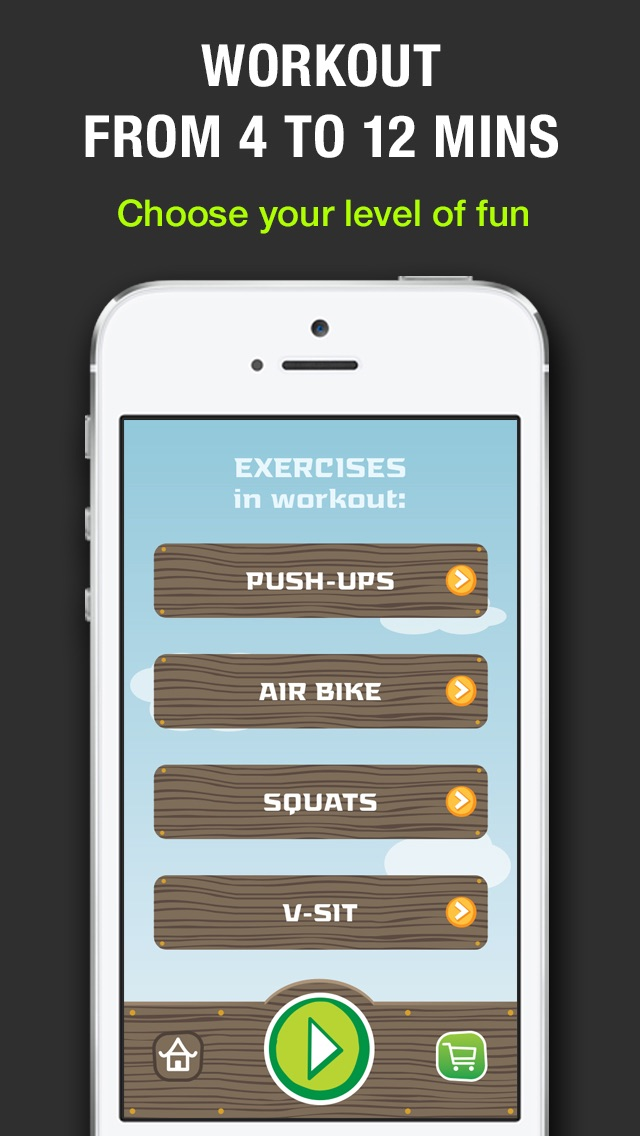 Tabata! Lite: 4 Minute Workout Challenge. Burn calories faster than ever!のおすすめ画像3