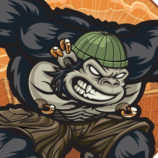 Gorilla City - Run, Jump and Fly Adventure PRO icon