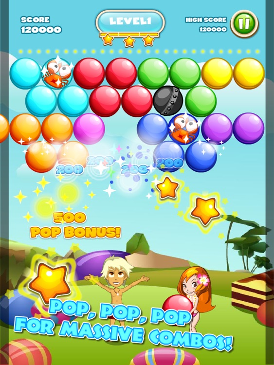 Bubble Seasons™ HD screenshot-3