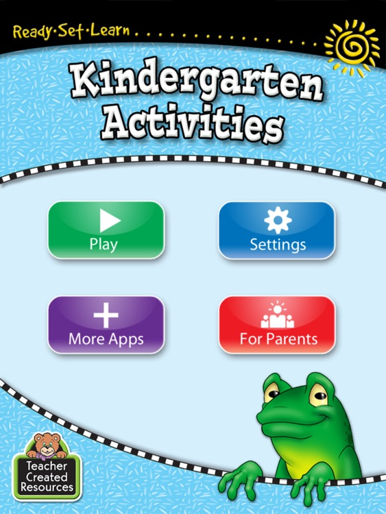 Ready-Set-Learn Kindergarten