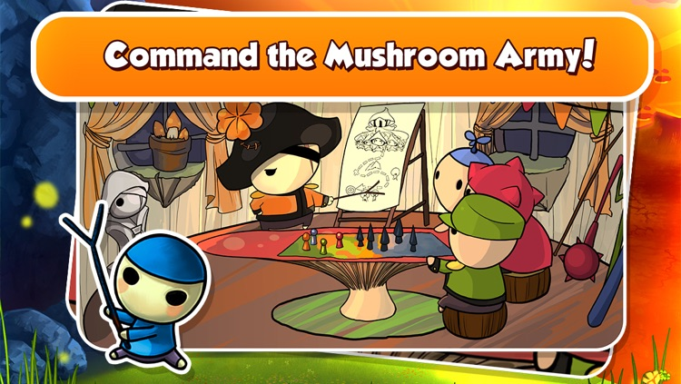 Mushroom Wars Mini screenshot-3