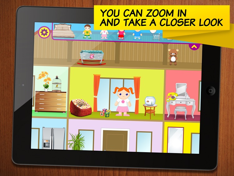 Little House Decorator - creative play for girls, boys and whole family screenshot-3