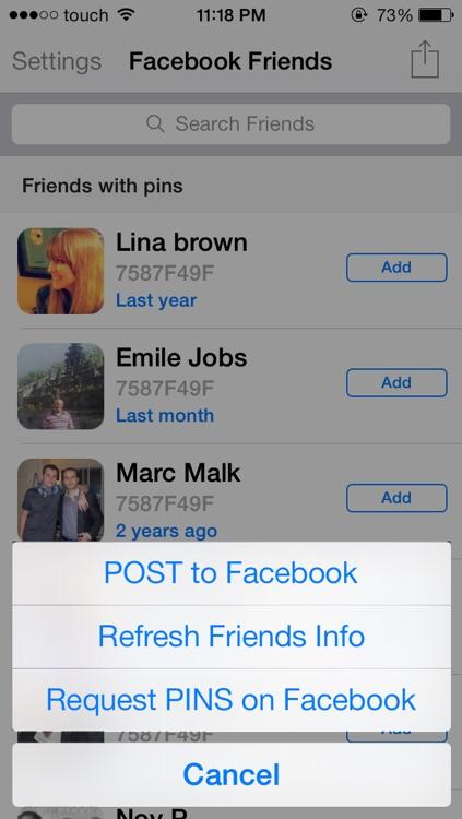 PIN Directory For BBM screenshot-3