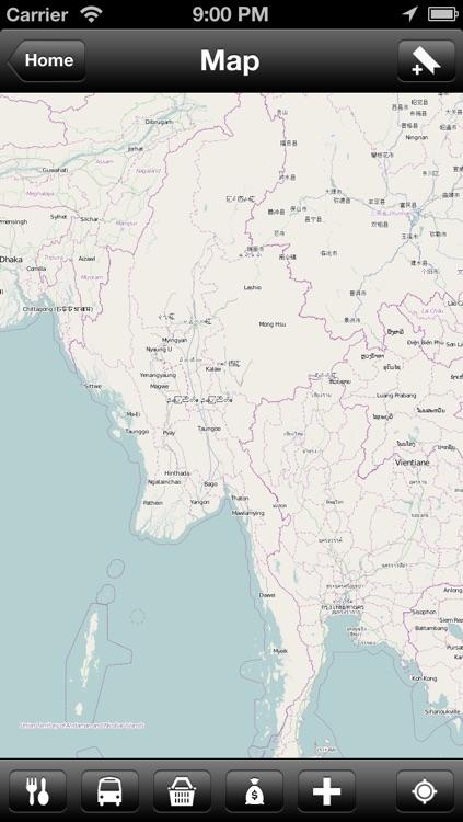Offline Burma (Myanmar) Map - World Offline Maps