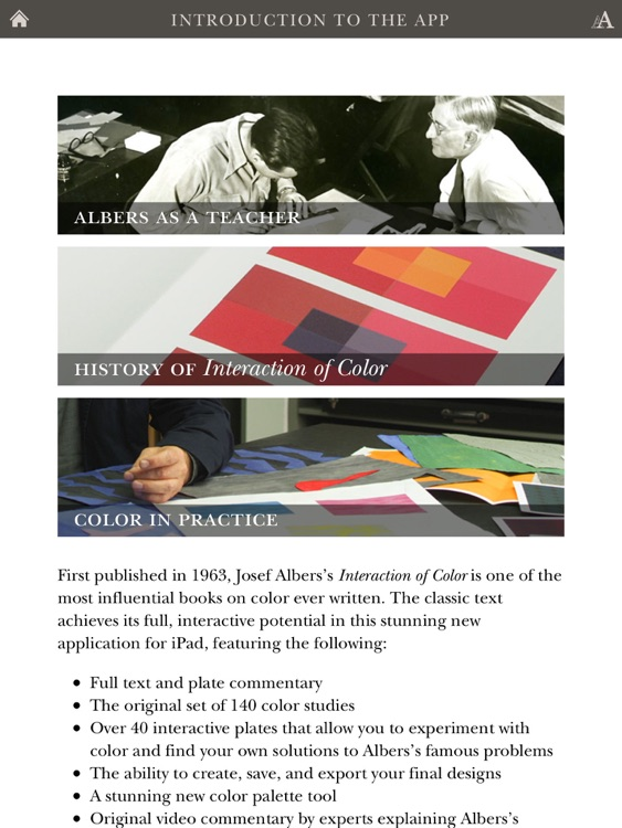 Josef Albers's The Interaction of Color screenshot-4