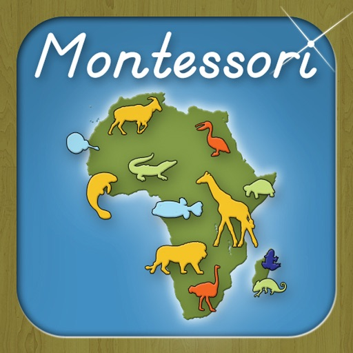 Animals of Africa - A Montessori Approach to Geography