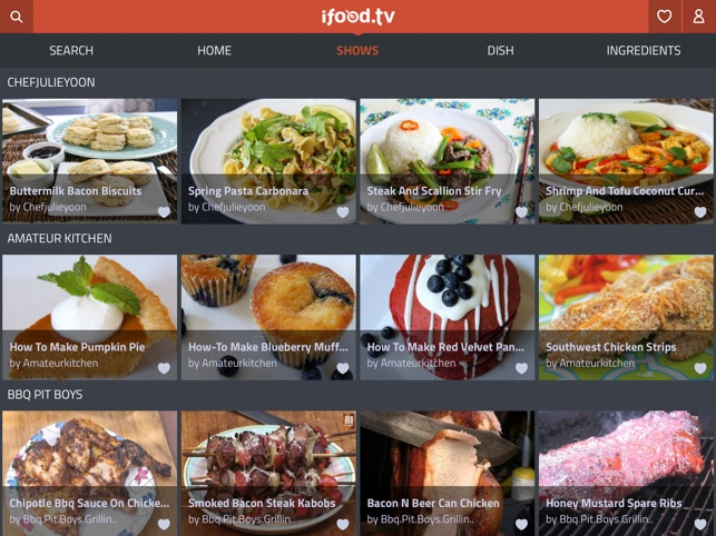 iFood tv video recipes on the App Store