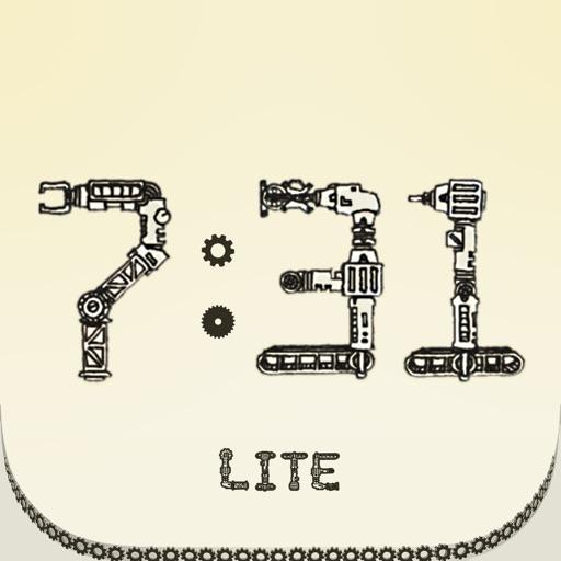 機械仕掛けの時計アプリ Lite